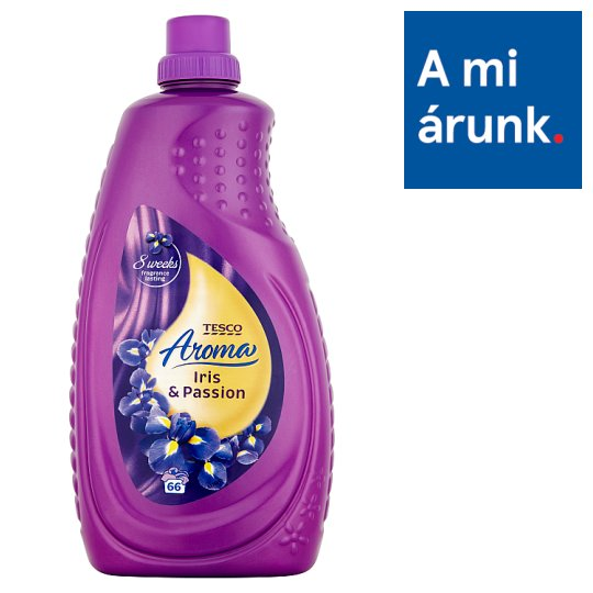Tesco Aroma Iris & Passion textilöblítő 66 mosás 2 l