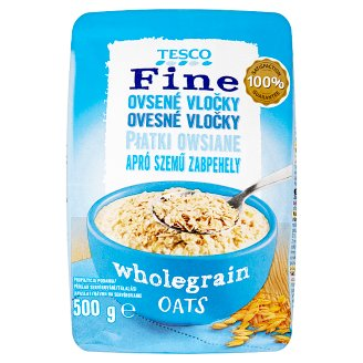 Tesco Wholegrain Oats 500 g