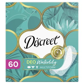 Discreet Waterlily Multiform Légáteresztő Tisztasági Betét, 60 db