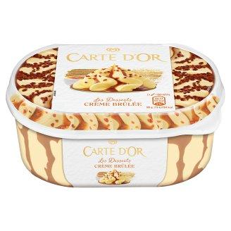 Carte D'Or Gelateria Crème Brûlée tejszín ízű jégkrém karamell szósszal 900 ml
