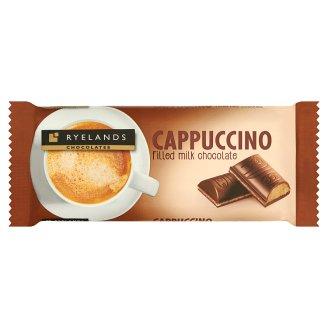 Ryelands Chocolates tejcsokoládé cappuccino ízű töltelékkel 100 g