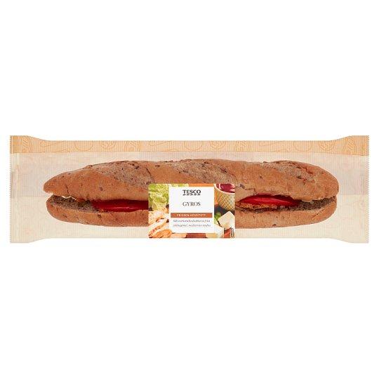 Tesco gyros baguette 218 g