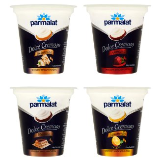 Parmalat Dolce Cremoso Dessert with Yoghurt and Mascarpone Cheese  in 4 Flavours 125 g