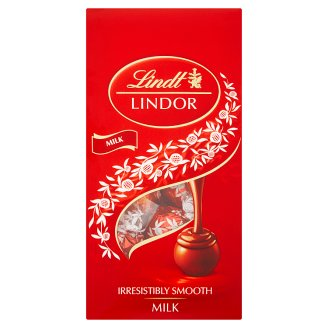 Lindt Lindor Milk Chocolate Pralines with A Smooth Filling 100 g