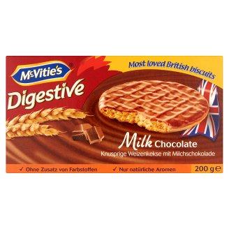 McVitie's Digestive Milk Chocolate Coated Biscuit 200 g