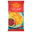 Tesco Hot Chilli Tortilla Chips 200 g