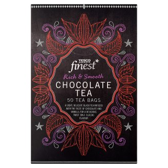 Tesco Finest Chocolate Flavoured Black Tea 50 Tea Bags 125 g