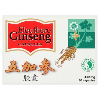 Dr. Chen Patika Eleuthero Ginseng Food Supplement Capsule 30 pcs 9,9 g