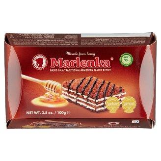 Marlenka kakaós mézes torta 100 g