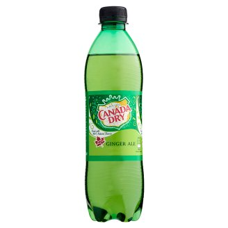 Canada Dry Low-Energy Ginger Flavoured Carbonated Soft Drink 0,5 l