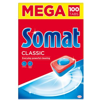 Somat Classic gépi mosogatószer tabletta 100 db 1750 g