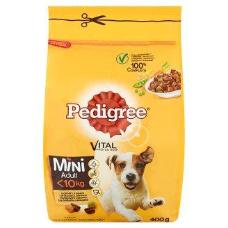Pedigree Vital Protection teljes értékű eledel kistestű kutyáknak baromfihússal, zöldségekkel 400 g