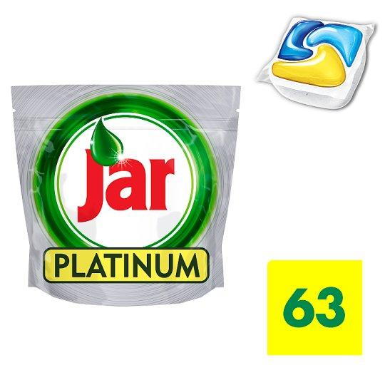 Jar Platinum Lemon Mosogatógép Kapszula 63 darabos kiszerelés