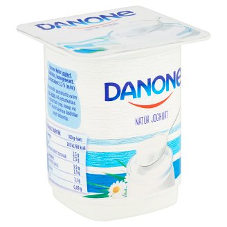 Danone Unflavoured Yoghurt with Live Cultures 140 g