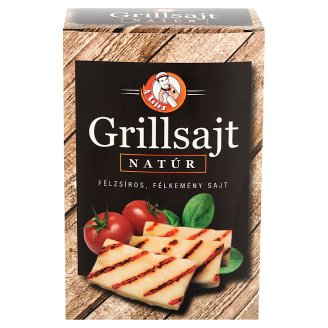 A Tejes Semi-Fat, Semi-Hard, Unflavoured Grill Cheese 220 g