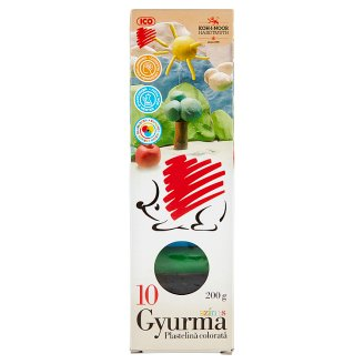 Ico KOH-I-NOOR színes gyurma 10 db 200 g