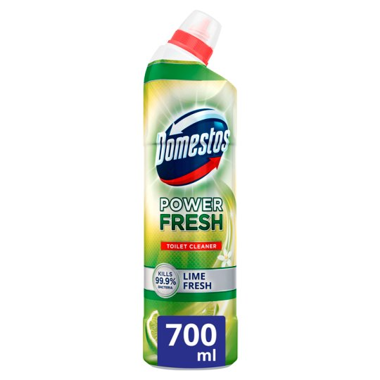 Domestos Total Hygiene Lime Fresh Disinfectant Toilet Gel 700 ml