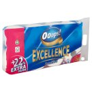 Ooops! Excellence Sensitive Toilet Paper 3 Ply 8 Rolls
