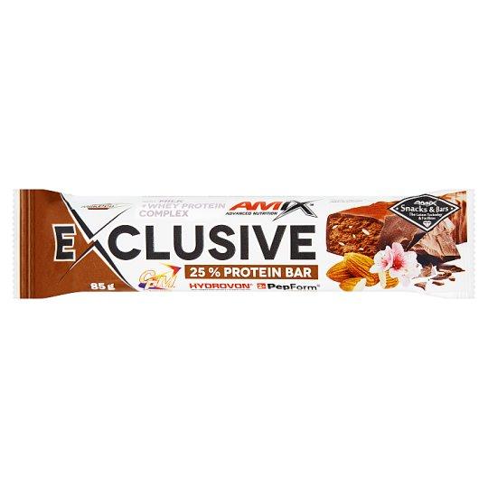 Amix Exclusive Bar dupla holland csokoládé ízű protein szelet 85 g