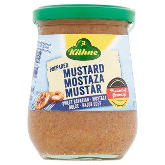 Kühne Bavarian Sweet Mustard 250 ml