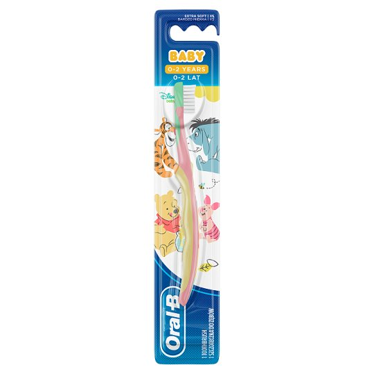 Oral-B Baby Manual Toothbrush Featuring Winnie The Pooh Character