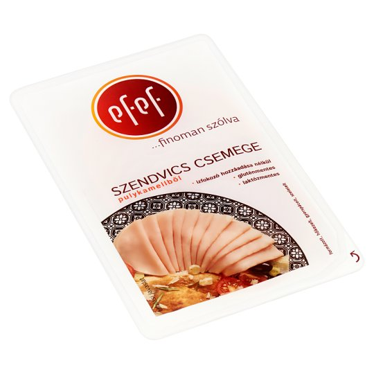eFeF Sliced Sandwich Cold Cuts from Turkey Breast 100 g