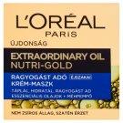 L'Oréal Paris Extraordinary Oil Nutri-Gold Illuminating Night Cream-Mask 50 ml
