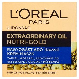 image 1 of L'Oréal Paris Extraordinary Oil Nutri-Gold Illuminating Night Cream-Mask 50 ml