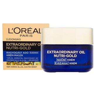 image 2 of L'Oréal Paris Extraordinary Oil Nutri-Gold Illuminating Night Cream-Mask 50 ml