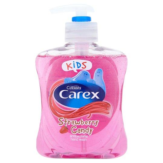 Carex Kids Strawberry Candy antibakteriális hatású folyékony szappan 250 ml