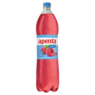 Apenta Raspberry Carbonated Soft Drink with Sweeteners 1,5 l