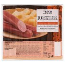 Tesco Turkey Frankfurters with Cheese 350 g