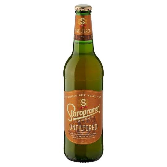 Staropramen Premium Unfiltered Lager Wheat Beer 5% 0,5 l
