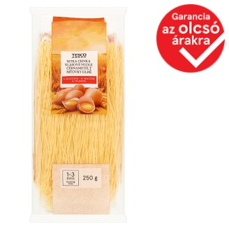 Tesco Vermicelli Dry Pasta with 8 Eggs 250 g