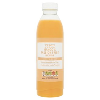 Tesco Mango and Passion Fruit Smoothie 750 ml