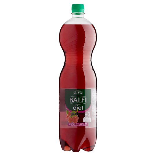 Balfi Diet Forest Fruit Flavoured Carbonated Soft Drink 1,5 l
