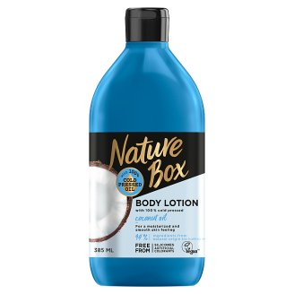 Nature Box Body Lotion with Cold Pressed Coconut Oil 385 ml