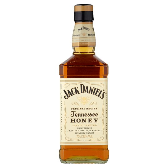 Jack Daniel's Honey Liqueur with Jack Daniel's Tennessee Whiskey 35% 0,7 l
