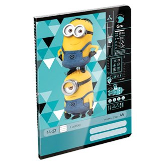 Minions A5 I. Class Lined Stapled Exercise Book