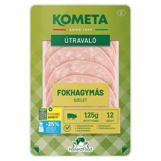Kométa Mindennap finom! Sliced Cold Cuts with Garlic 125 g