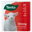 Tento Extra Strong 3 Ply, 2 Rolls Paper Towels 70 Sheets/Roll