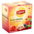 Lipton málna és áfonya ízű gyümölcstea 20 piramis filter