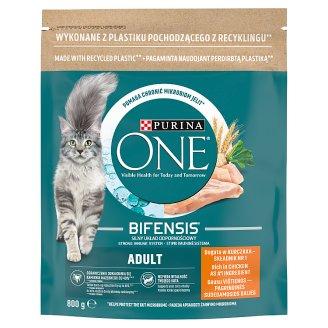 Purina One Adult Cat csirkében és teljes kiőrlésű gabonákban gazdag száraz macskaeledel