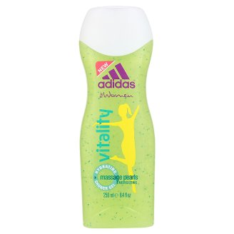 adidas Vitality Hydrating Shower Gel with Massage Pearls for Women 250 ml