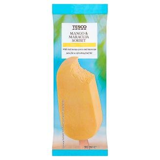 Tesco mangós-passiógyümölcsös szorbé 90 ml