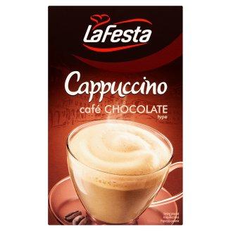 La Festa csokoládéízű capuccino instant kávéitalpor 10 x 12,5 g