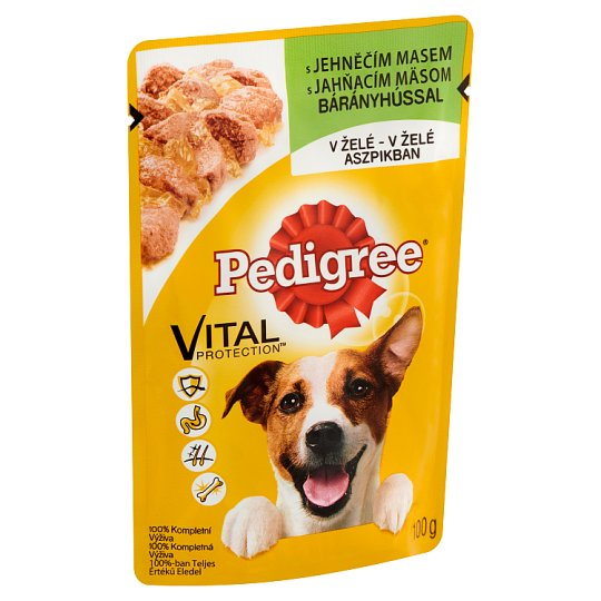 Pedigree Vital Protection Complete Pet Food for Adult Dogs with Lamb 100 g