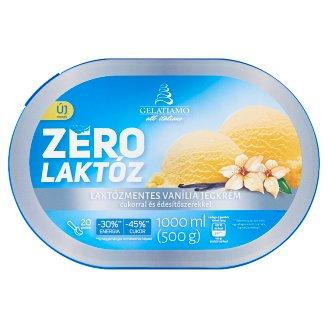 Gelatiamo Zero vaníliás jégkrém cukorral és édesítőszerrel 1000 ml