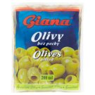 Giana Spanish Green Pitted Olives in Brine 195 g