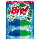 Bref Duo Aktiv Pine toalett frissítő fenyő illattal 2 x 50 ml